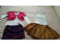 Girls clothes dresses jacket coat skirts age 4_5