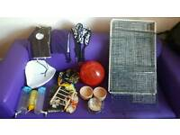 Rat cage + accessories