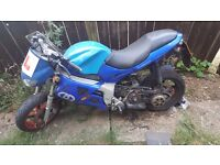 Gilera DNA 180cc as 125cc + leonardo 180 for spairs and repairs £350 want gone