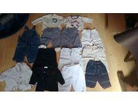 Boys age 3-6 months clothes bundle