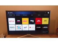 "Samsung UE32K5500 32"" 1080p Full HD Smart Slim Flat LED TV Built in WiFi Freeview"