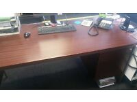 OFFICE DESKS FREE - WOULD SUIT OFFICE START UP