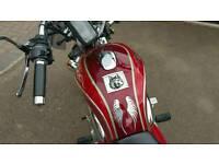 Motorcycle Cruiser Easy Rider 250cc (2008)