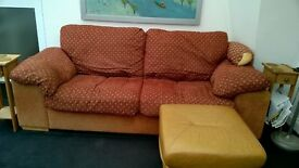 Sofa, very comfy, 3 seater .