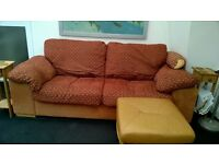 Sofa, very comfy, 3 seater .