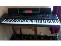 Korg Keyboard Pa4x Professional Arranger with speakers.