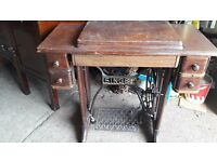Vintage Singer Sewing Machine Stand