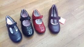 12 prs of girls brand new , boxed shoes