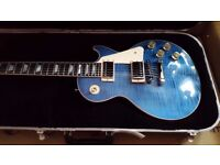Gibson USA 2015 Les Paul Traditional in Ocean Blue BRAND NEW