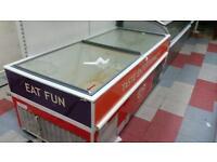 Wall's chest freezer plus wall's 3 shelf ice cream fridge