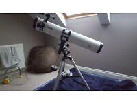 Dynasun telescope