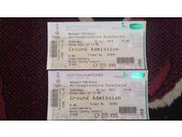 T20 blast tickets x2