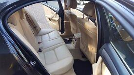 Sold !!!!!!!!!!2007 BMW 5 Series Saloon E60 Facelift 2.0 520d SE 4dr, BLUETOOTH, BEIGE LEATHER