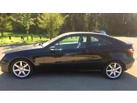 2007 Mercedes Benz c class coupe c 180 AUTO sport k ...not bmw ford vw Audi