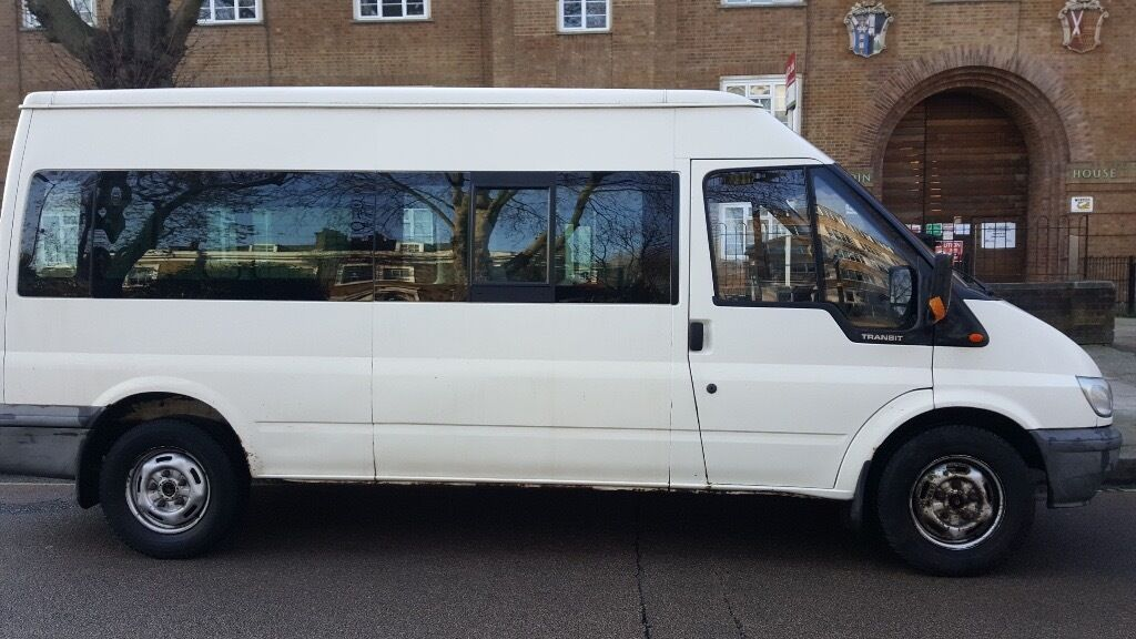 ford transit minibus 2002 lwb manual lez compliant for. Black Bedroom Furniture Sets. Home Design Ideas