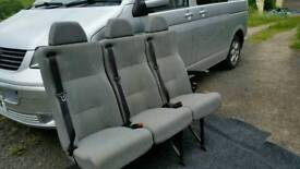 Vw t5 rear seats