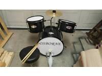 Children's starter drum kit