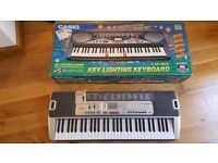 CASIO Key Lighting System full keyboard *Rare to find*