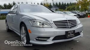 2013 Mercedes-Benz S-Class One Owner