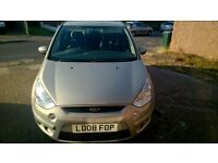 Very good condition Ford S Max ZETEC TDCI 1.8 diesel.