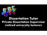 Dissertation Tutor, PhD, Assignment, Essay, Proofreading, Dissertation Help