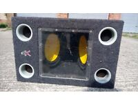 Double speaker bass subwoofer very powerful 1000W.