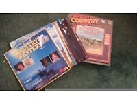 "29 x 12"" country and western vinyl albums"