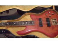 Schecter Stiletto Extreme-4 Bass Guitar + hardcase