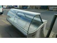 5 metre serve over refrigeration fridge display cabinet counter under storage curved glass 2.5 metre