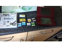 Dsi XL with games