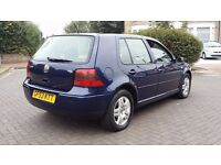 VOLKSWAGEN GOLF GT TDi 2003 5 DOOR 1 LADY OWNED FROM NEW FSH DRIVES VERY WELL