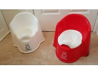 2 x Baby Bjorn Potty Chair - 2 for 15£ or 1 for 10£