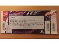 F1 Silverstone British Grand Prix 2017 | Grandstand: National Pits Straight | 3 day Fri-Sun