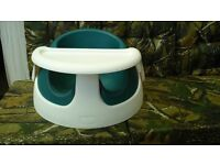 Mamas and Papas Snug Chair teal with tray. no offers