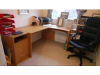 Computer Chair and Office Table