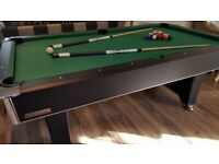 Powerglide 7ft x 4ft Pool Table