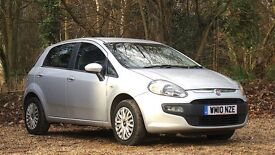 Fiat Punto Evo 1.4 8v Dynamic 5dr (start/stop) 2010 (10 reg), Manual 1368cc Petrol