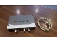 M-Audio FireWire Solo Recording Interface.