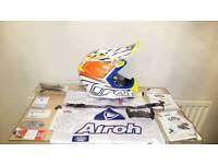 Mens Airoh 2.1 motocross helmet size small