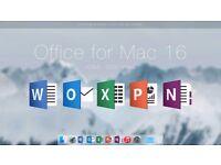 OFFICE 2016 MAC OSX