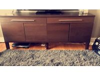 Brown Cabinet - Can be used as TV Unit / Drinks Cabinet / General Storage Cabinet