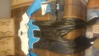 2 piece racing leathers and boats