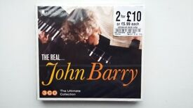 'The Real...John Barry' 3CD Ultimate Collection