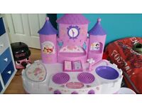 Disney Childrens Kids Pretend Cooker Kitchen Toy Role Play Game Set
