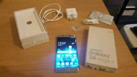 Samsung S6 edge Plus 4Gb Ram 32GB memory. Unlocked! a fabulous phone