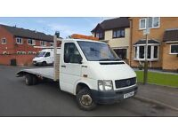 2003 Vw LT46 2.5 TDI Recovery Truck Downgraded LT35 Transporter Turbo Diesel 3.5 Tone Aluminium Bed