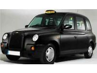 Black cab Taxi driver required for dayshift