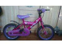 """silverfox Dazzle Delight girl bike 14"""""""