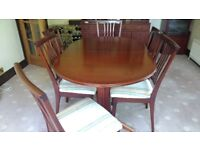 Free dining room furniture