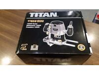 """TITAN TTB591ROU 1250W ½"""" ROUTER 240V Boxed & Collection Only."""